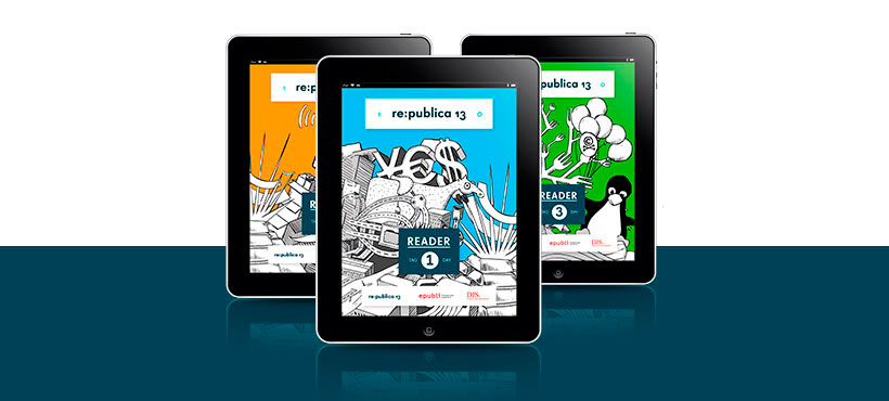 Das war's: Die re:publica in 3 eBooks