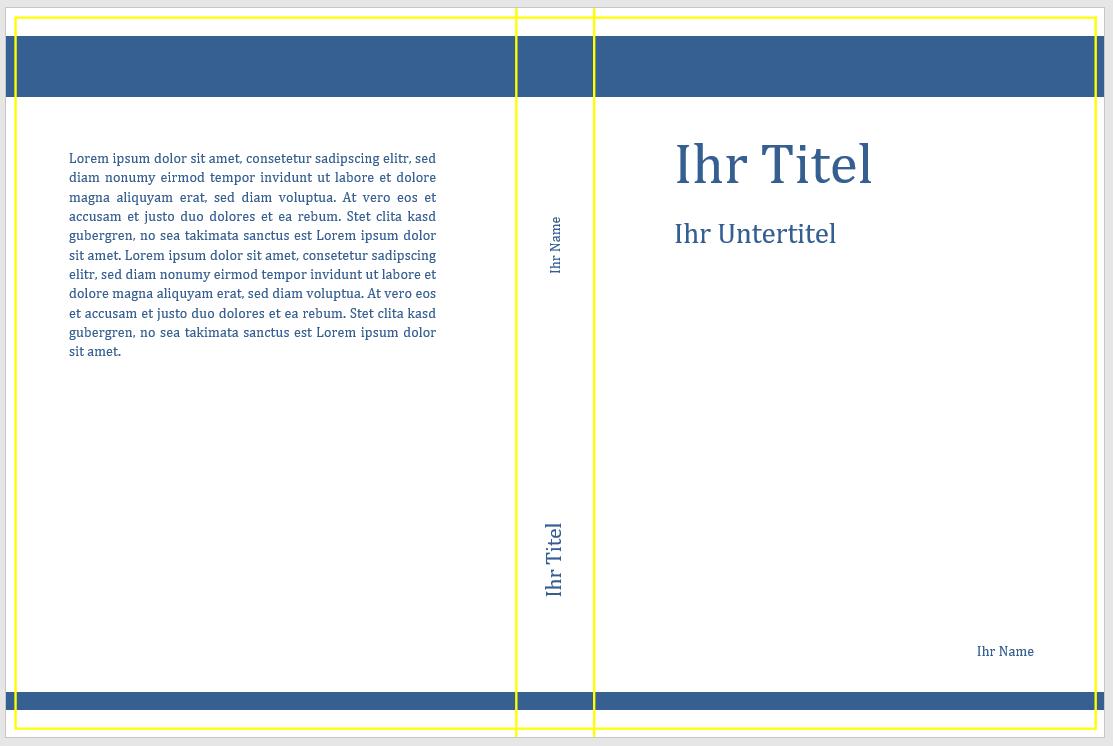 Buchcover Und Umschlage Online Erstellen 13