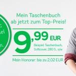 Neue Preise: Sie sparen bis zu 60%! Top-Preis für Ihr Taschenbuch