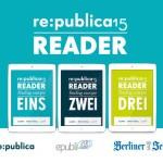 """Der re:publica Reader 2015: Das """"schnellste Buch der Welt"""" geht in die dritte Runde"""