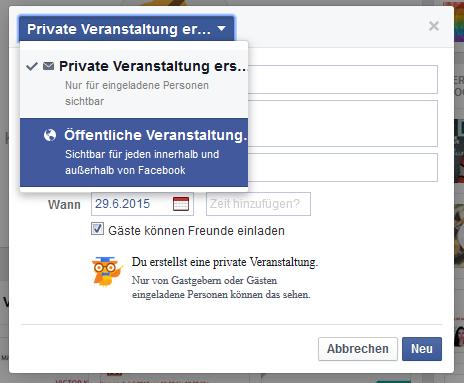 Facebook private fotos sehen