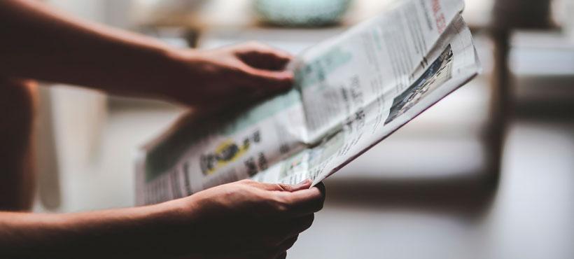 Regionale Zeitungen ansprechen