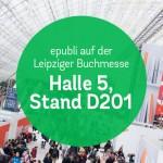 Besuchen Sie uns auf der Leipziger Buchmesse 2016 am Stand D201 in Halle 5!