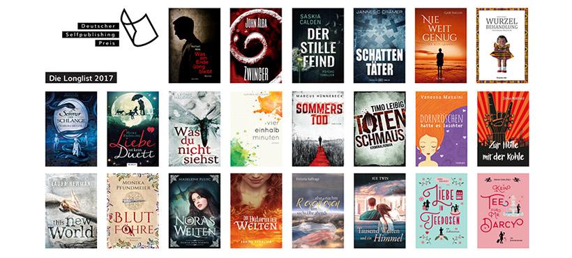 Der Deutsche Selfpublishing-Preis – die Longlist steht fest